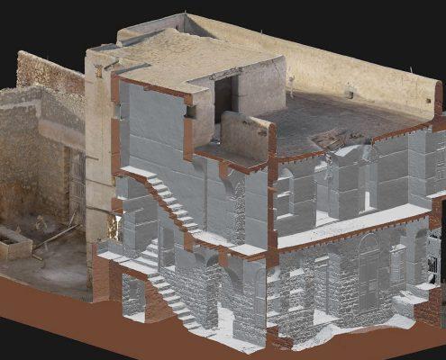Modèle 3D complet intérieur et extérieur Al-Wajh